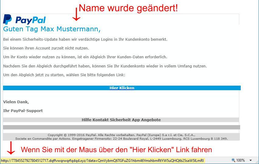 Vorsicht Vor Betrügerischen E Mail Elbe Elsterde